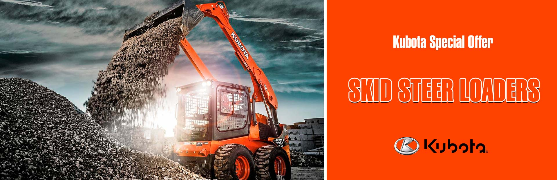 Kubota: Kubota Special Offer - Skid Steer Loaders